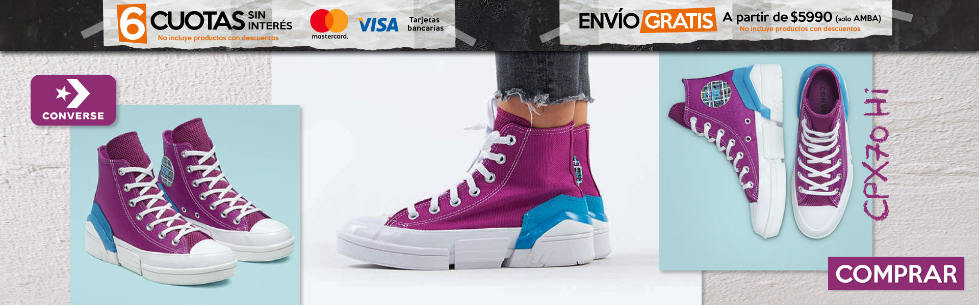 Converse hike DT